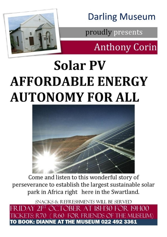 solar power autonomy for all