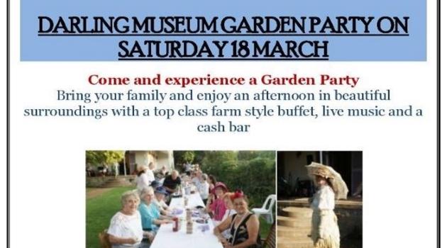 Darling Museum Garden Party