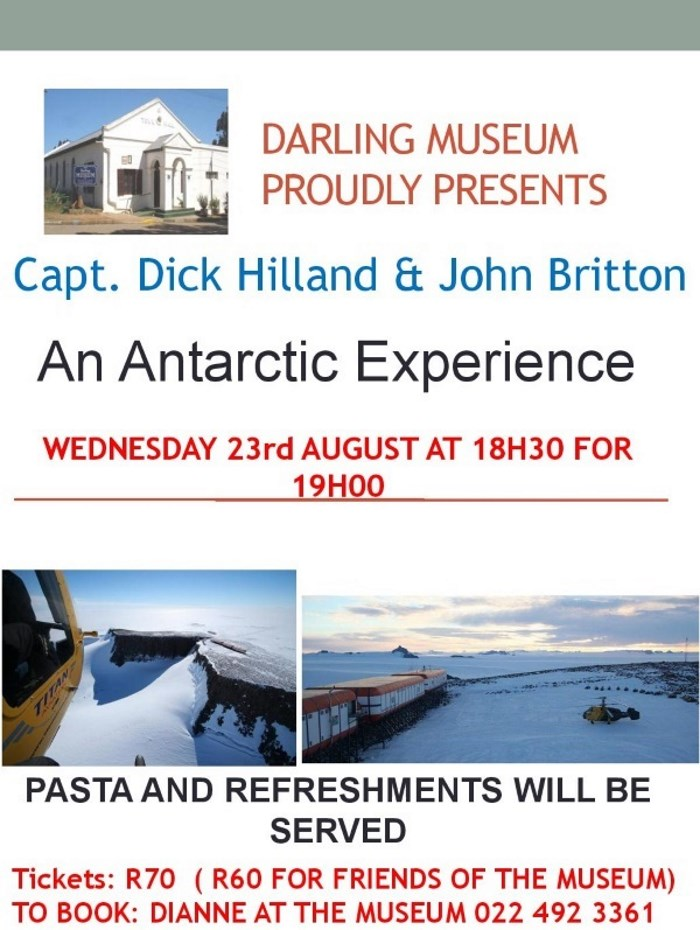 Helicopters in Antarctica
